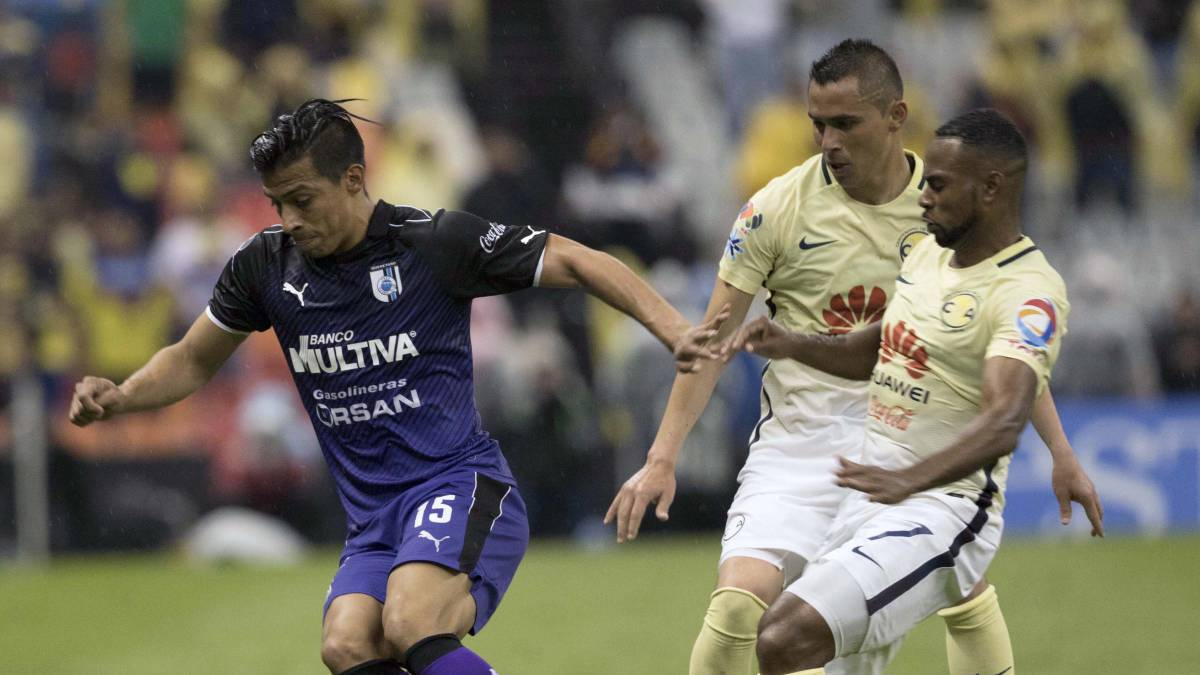 Querétaro derrota 2-0 al América en la Supercopa