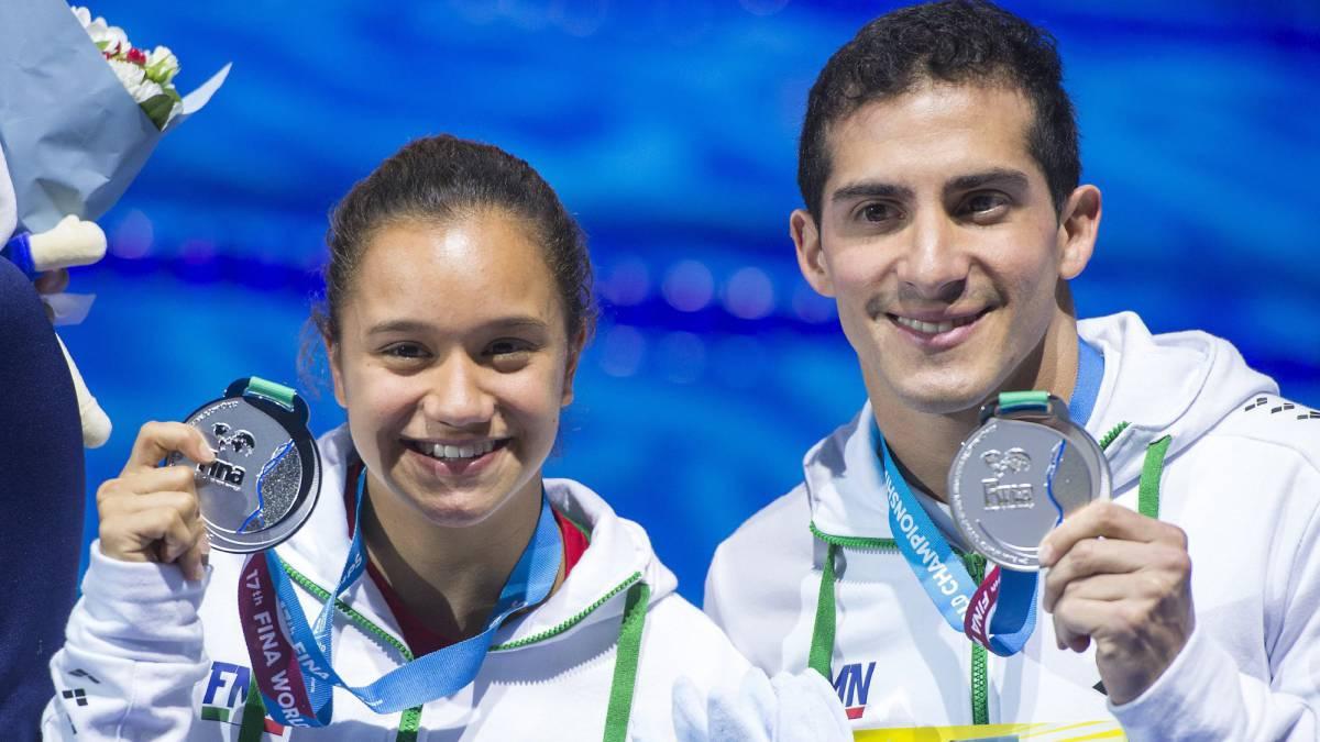 Mexicanos ganan plata en Mundial de Natación en Budapest