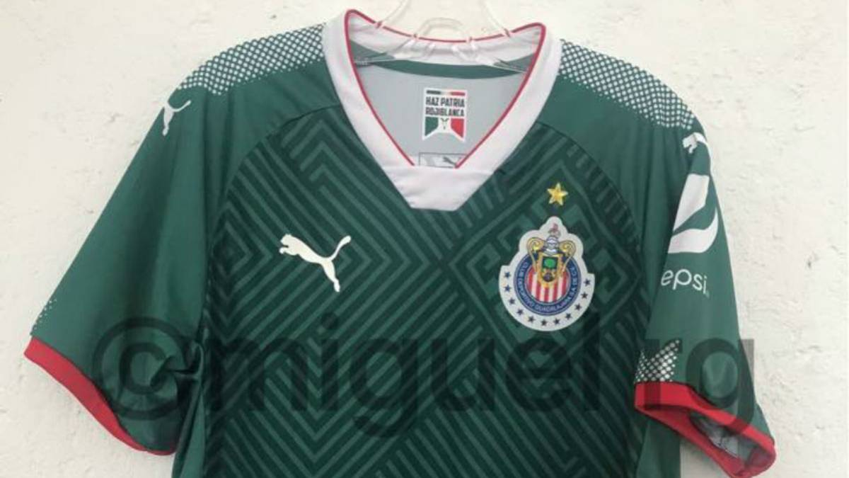 4f57504ccb856 Liga MX  Se filtra la posible camiseta  mexicana  de Chivas para 2018 - AS  USA