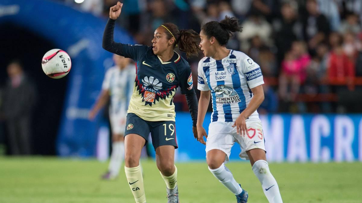Pachuca y América empatan e imponen récord en Liga MX Femenil