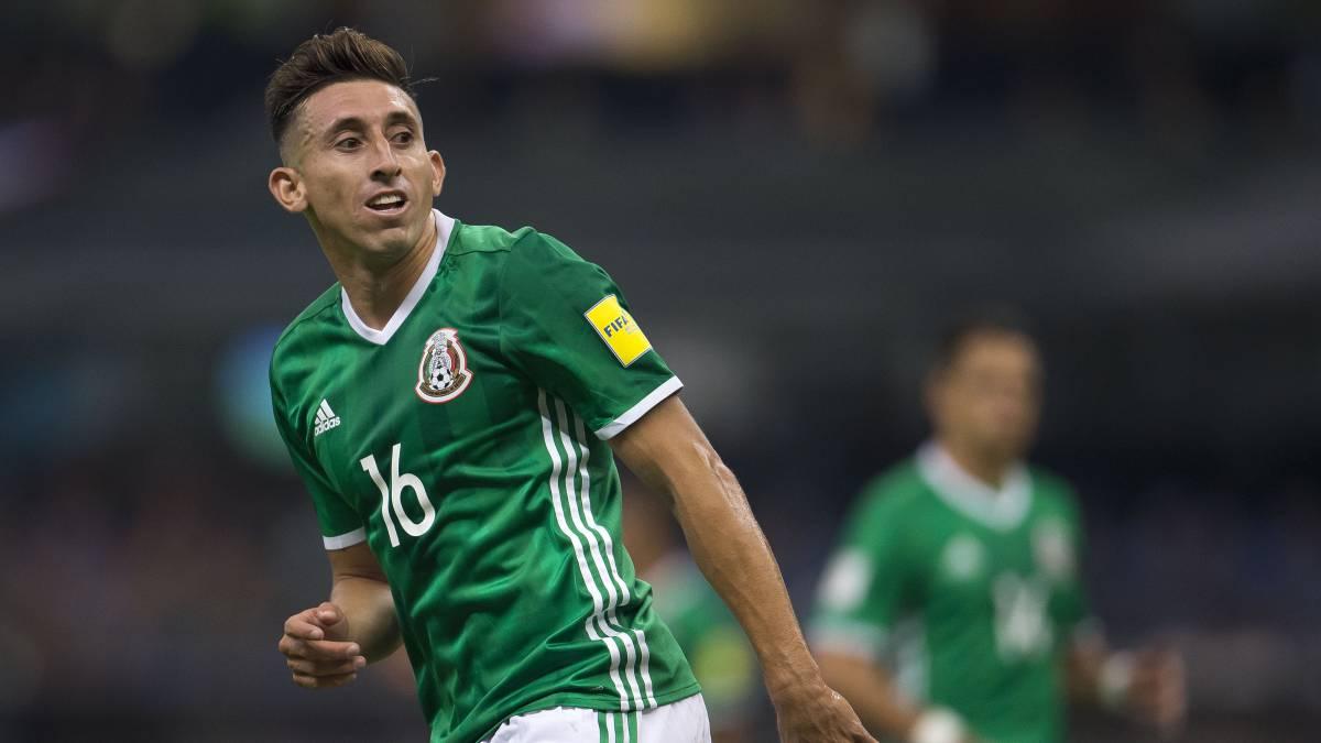 México Héctor Herrera Due±as y Araujo bajas en la concentraci³n