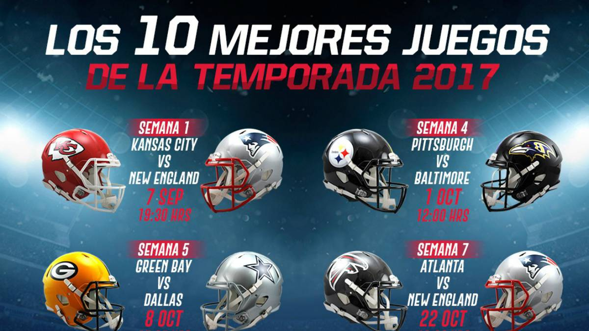 Los 10 Mejores Partidos De La Temporada 2017 De La Nfl As Com