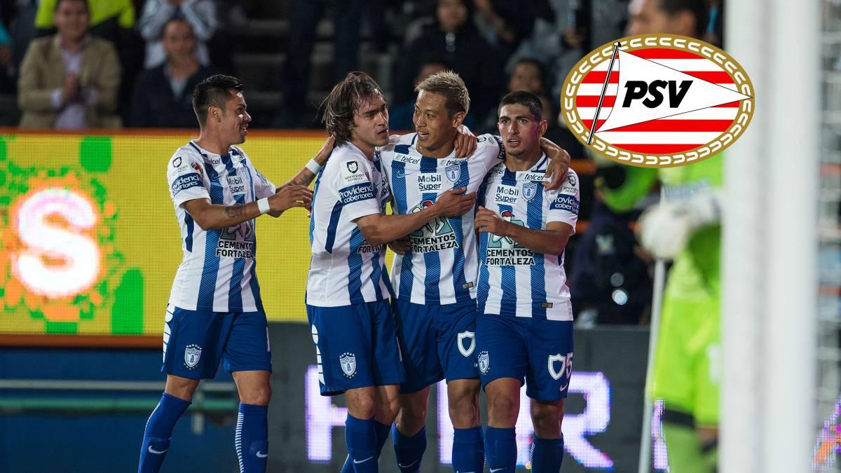 Hirving Lozano anota en la goleada del PSV 7-1
