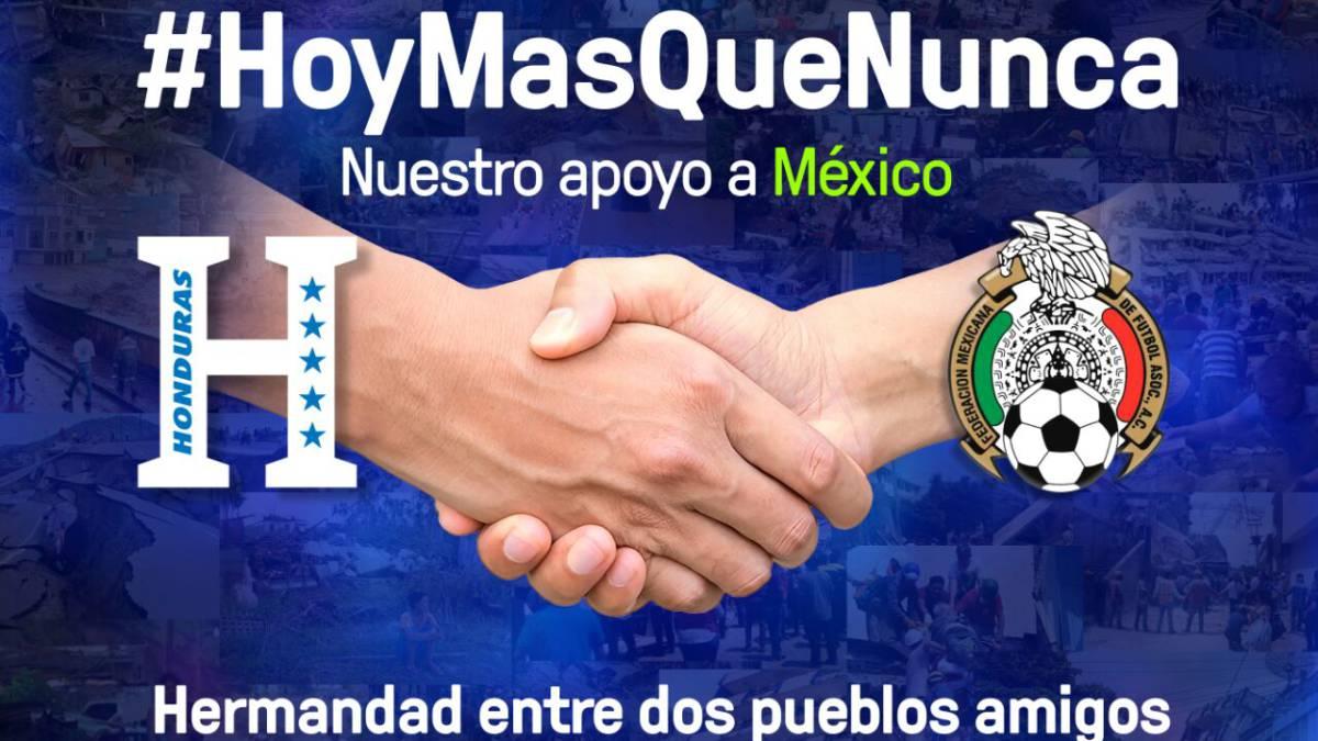 Enorme gesto de Honduras para los damnificados por el terremoto en México