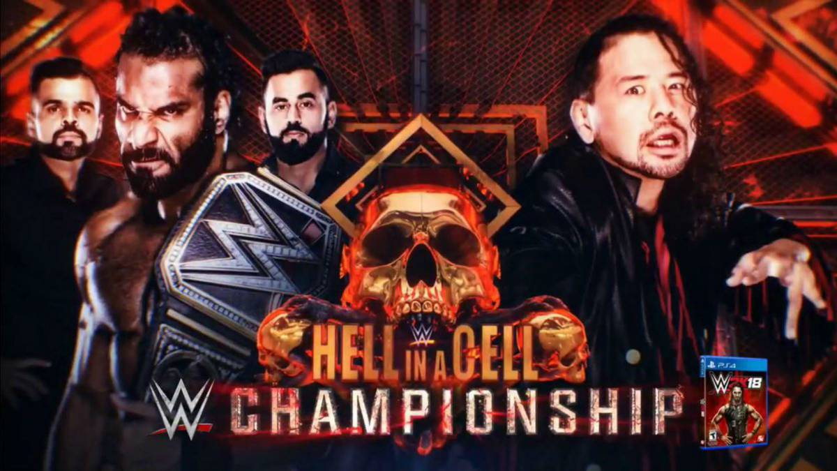Conoce la cartelera oficial de WWE Hell in a Cell este domingo