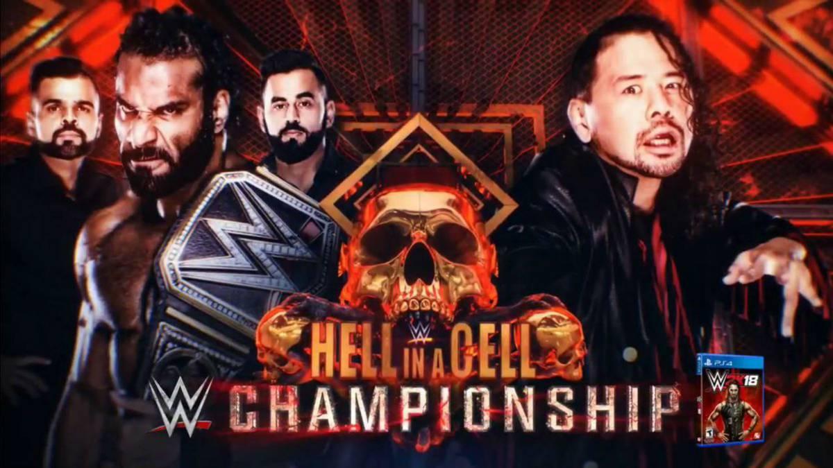 Esta es la cartelera completa del WWE Hell in a Cell