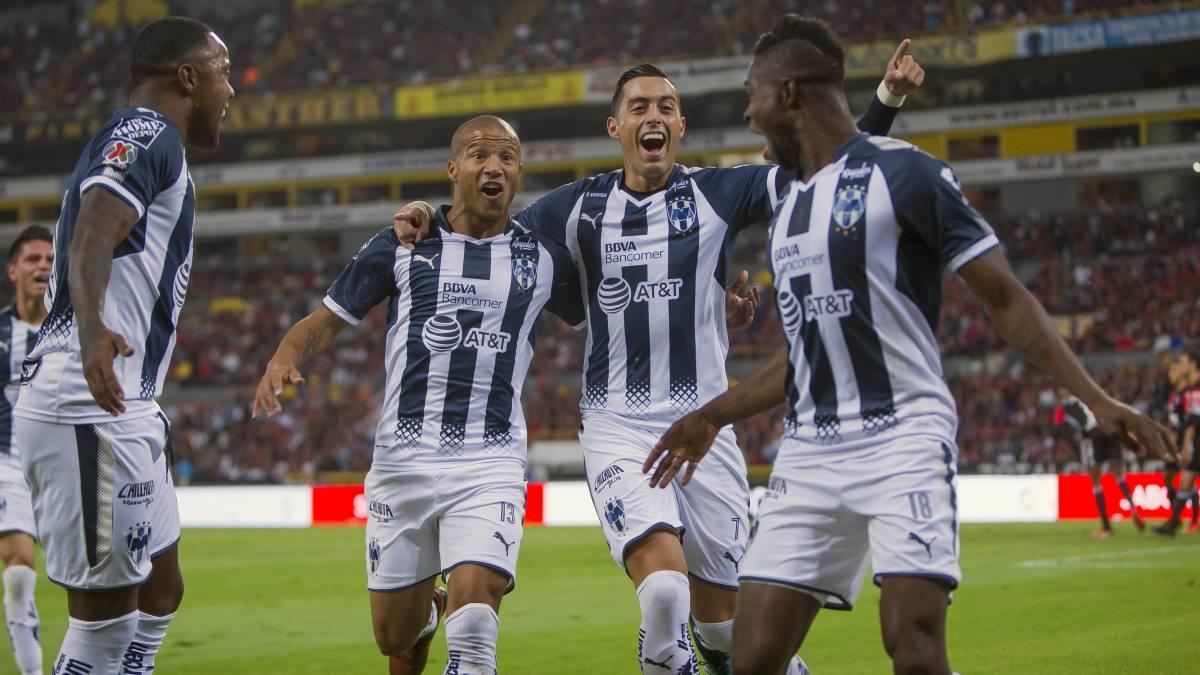 Bastan 20 minutos a Monterrey para ganar 2-1 al Atlas