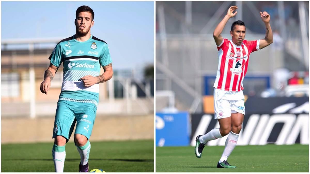 Necaxa y Santos realizan trueque de jugadores de cara al próximo torneo