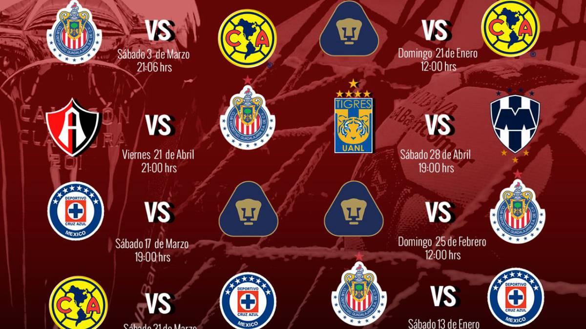 Tigres abrirá el C2018 frente a Puebla