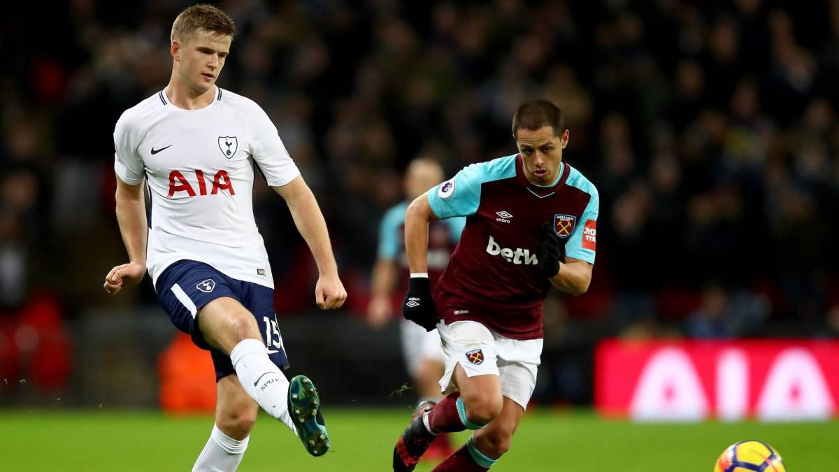 West Ham empata ante Tottenham con Javier 'Chicharito' Hernández de titular