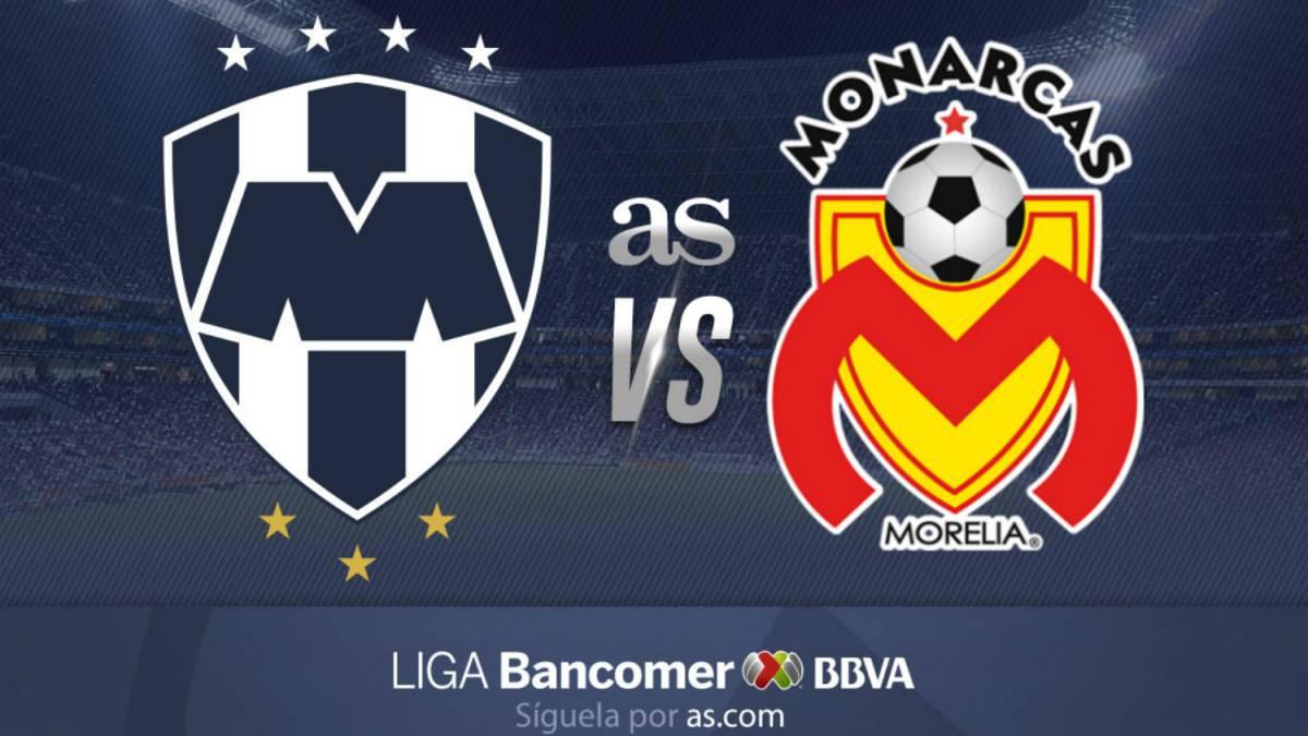 39d5e1cb688b4 Rayados de Monterrey vs Morelia (1-1)  Resumen del partido y goles ...