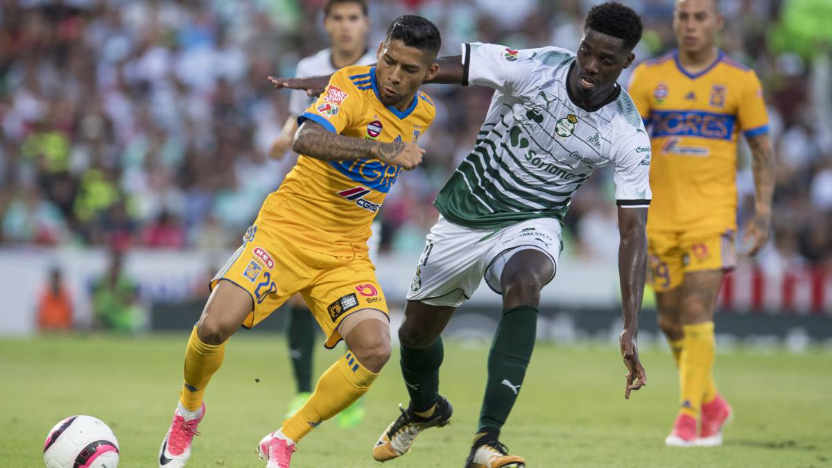 Liga Mx: Tigres vs Santos, 13 de enero, En Vivo