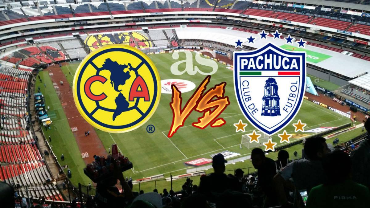 América vs Pachuca (2-2)  resumen de partido y goles - AS México 349bc684de7ec