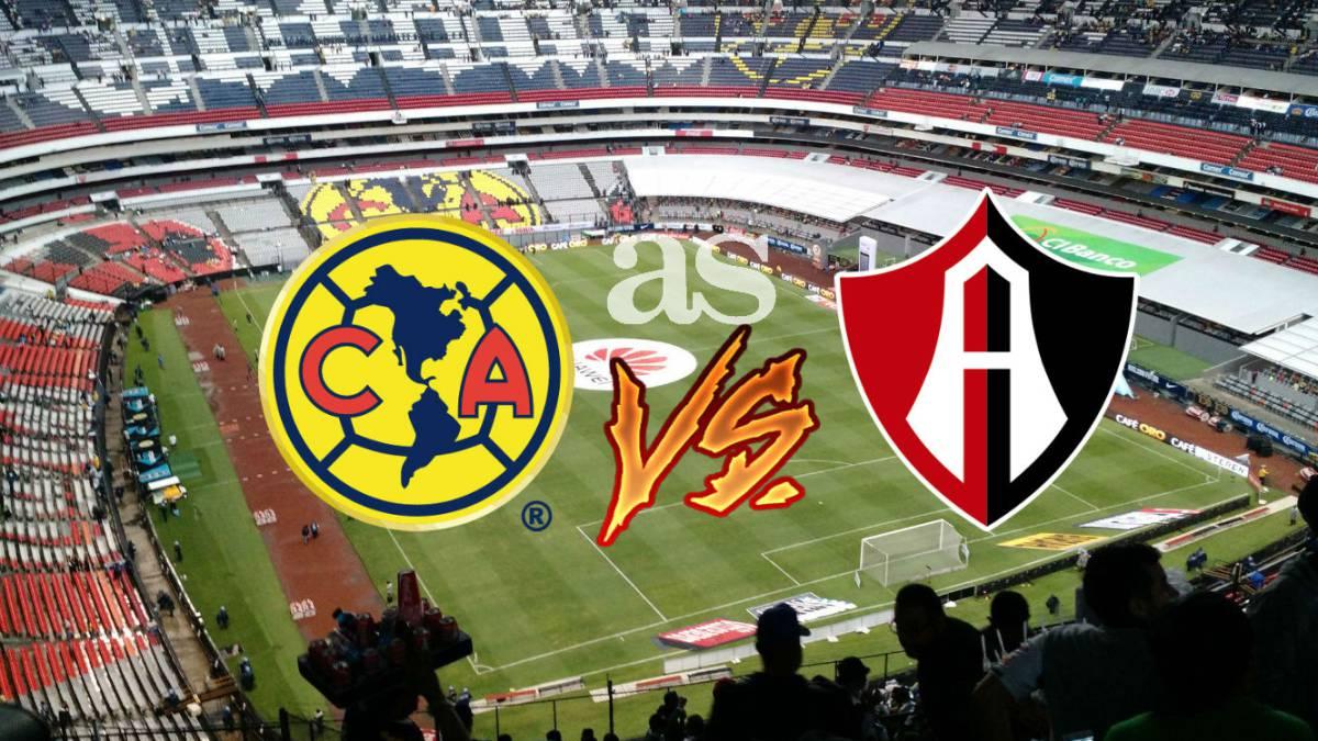 Horario, fecha y transmisión, Clausura 2018 — América vs Atlas