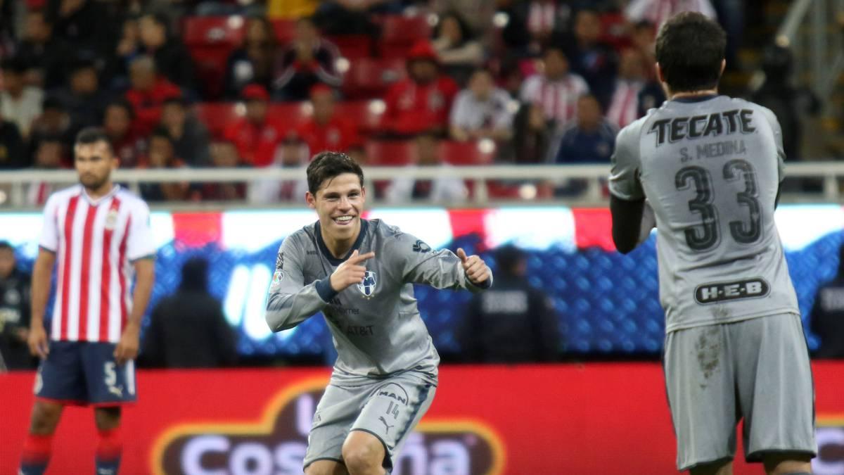 6358d75277856 Chivas pierde con Monterrey en la jornada 4 del Clausura 2018 - AS ...