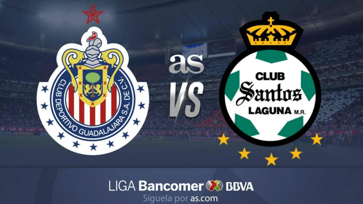 Chivas vs Santos Laguna en vivo  Liga MX b33a7c1c6be09