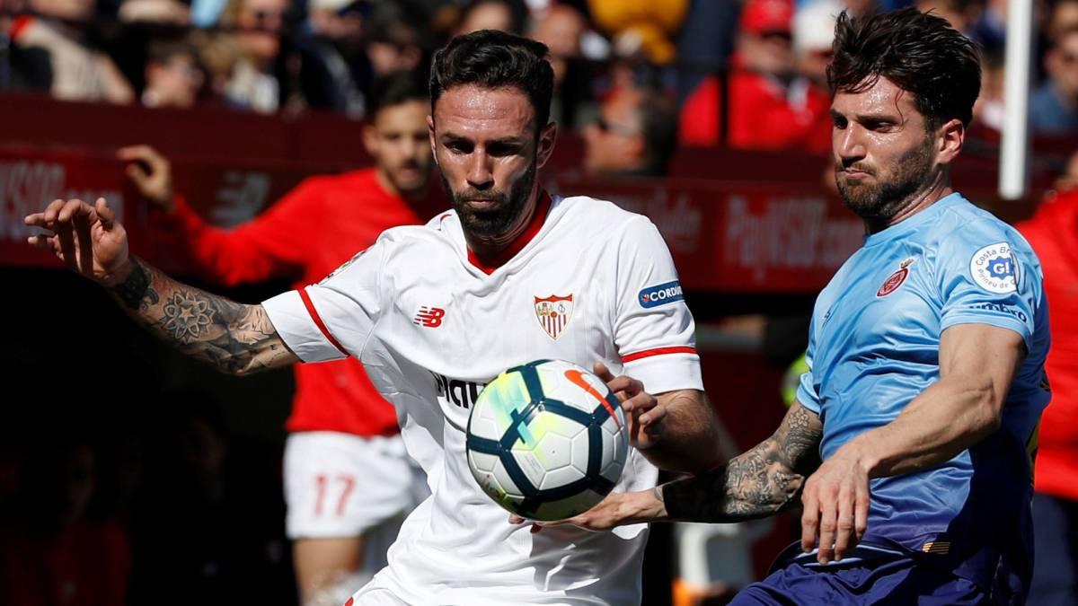 Layún participó en victoria del Sevilla 1-0 ante Girona