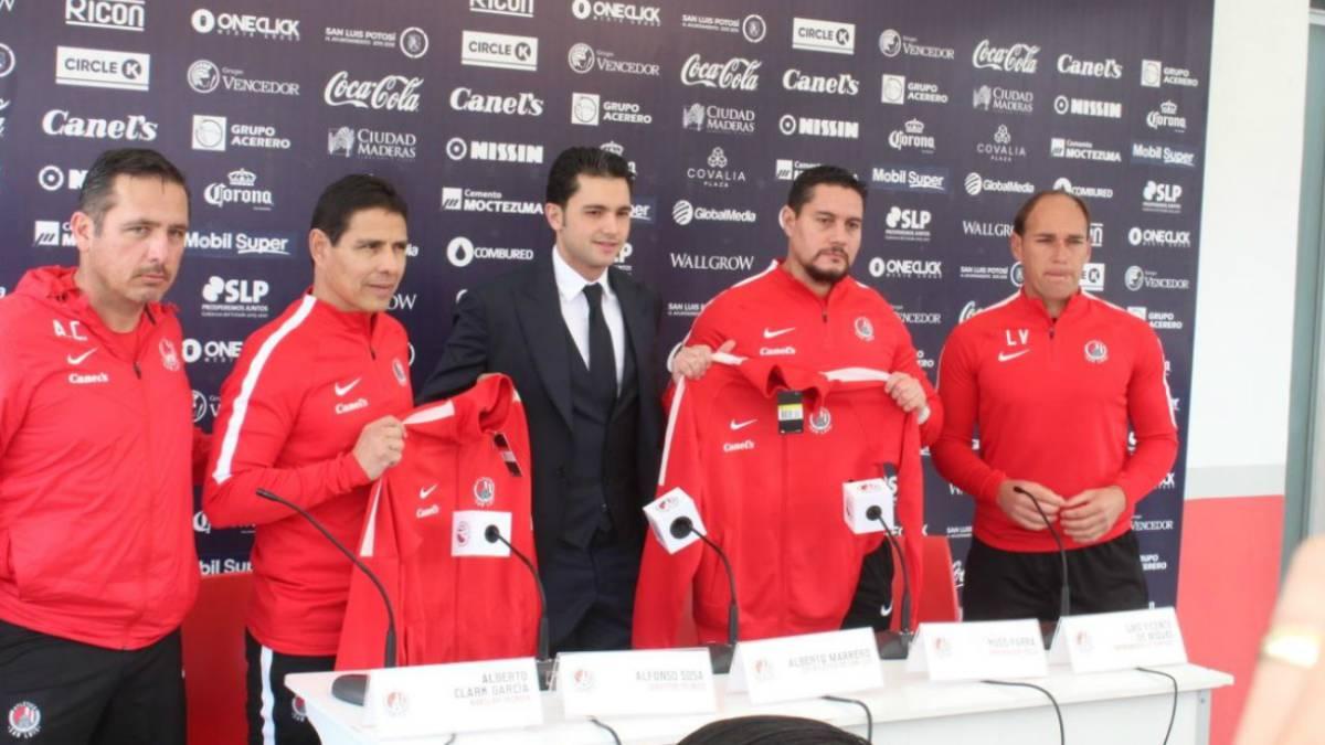 Atlético de San Luis presenta a su nuevo DT