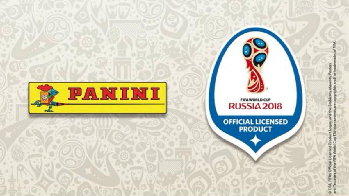 Álbum Panini del Mundial de Rusia verá la luz en marzo