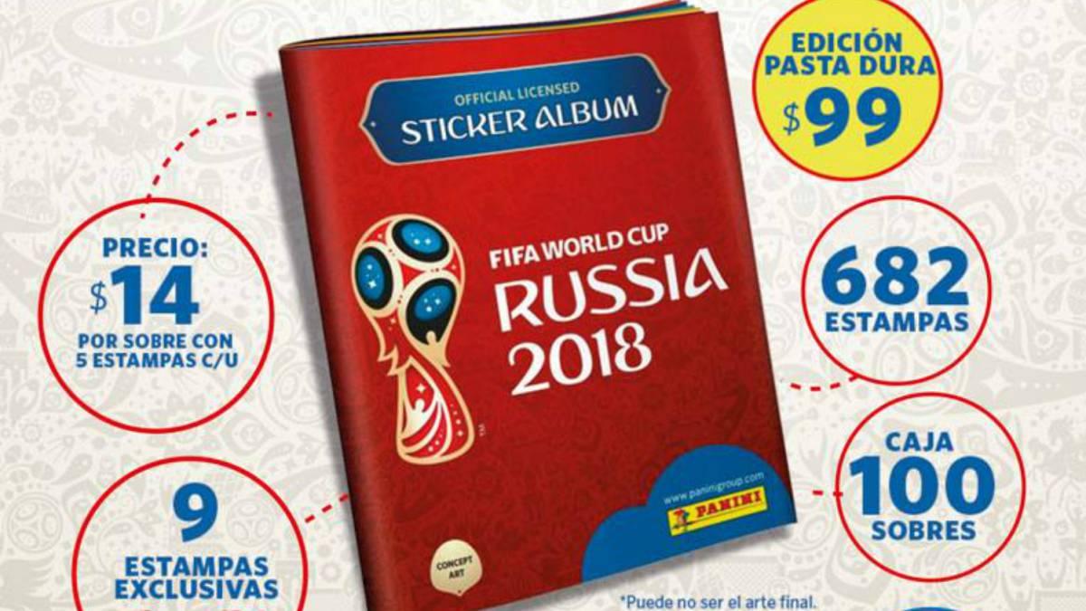 Coleccionistas del álbum Panini del Mundial alzan la voz por altos precios a68e2d63c9f