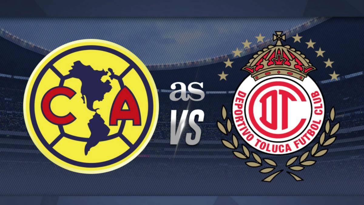 América vs Toluca en vivo online Liga MX jornada 12