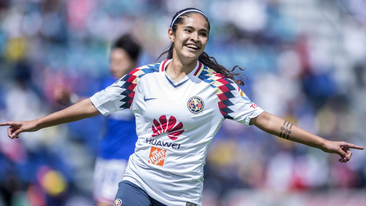 América golea 4-0 a Cruz Azul en la Liga MX Femenil - AS México 12e42c7ebaaf3