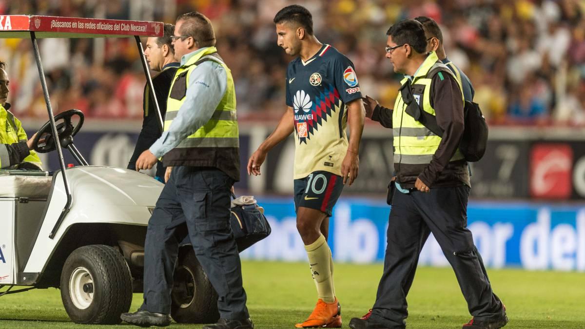 09026ff7189da América se queda sin Cecilio Domínguez por lesión - AS México
