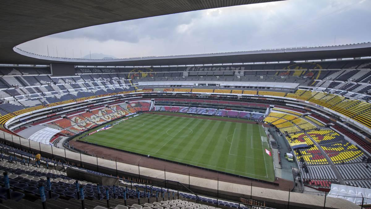 Resultado de imagen para gramilla estadio azteca