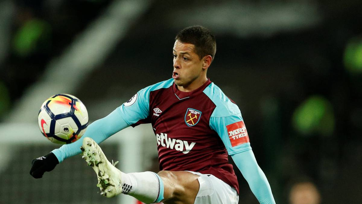 Chicharito y West Ham rescatan el empate ante el Stoke City