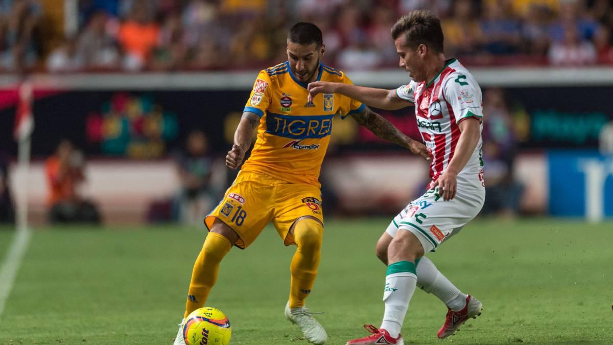 Necaxa vs Tigres (1-1)  Resumen del partido y goles - AS México 273642bd867b3