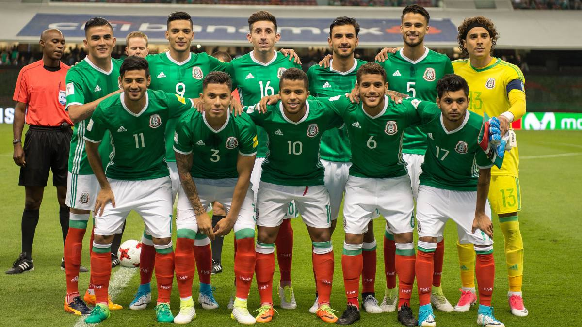 México enfrentará a Dinamarca antes de su debut en Rusia 2018