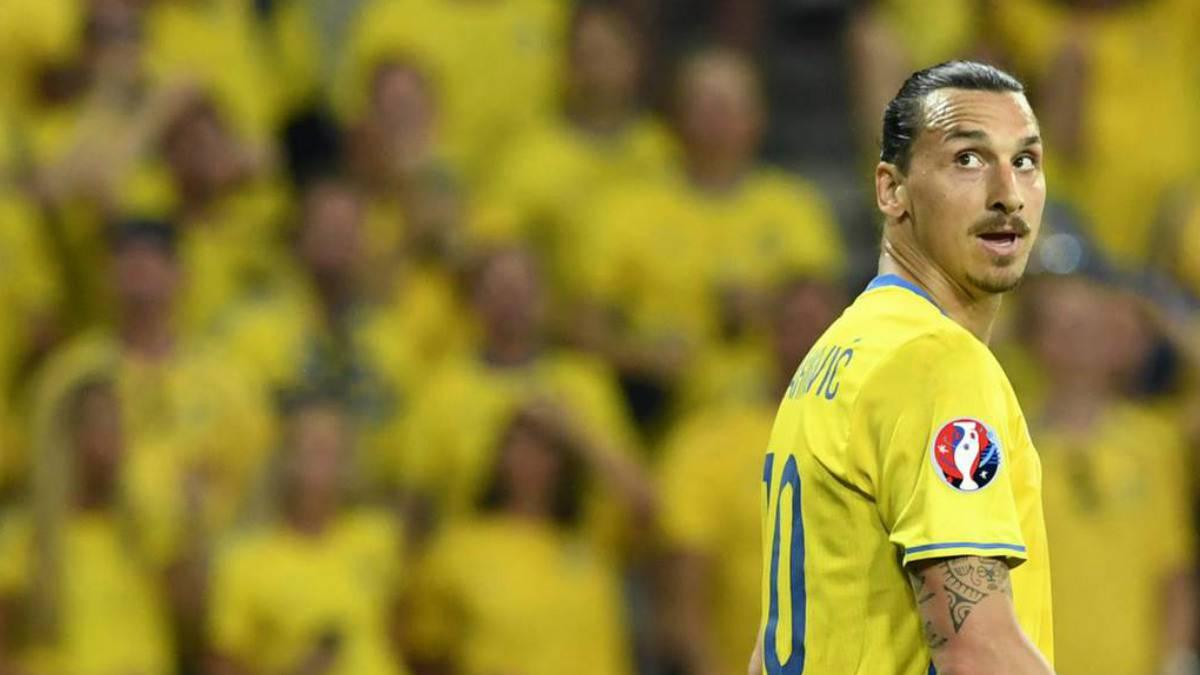 Deja fuera del mundial Ibrahimovic