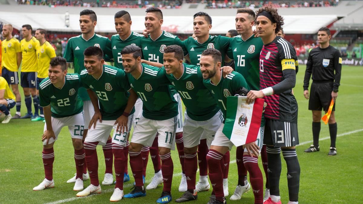 f354274e2a357 Selección Mexicana  los números que usará el Tri en Rusia 2018 - AS México