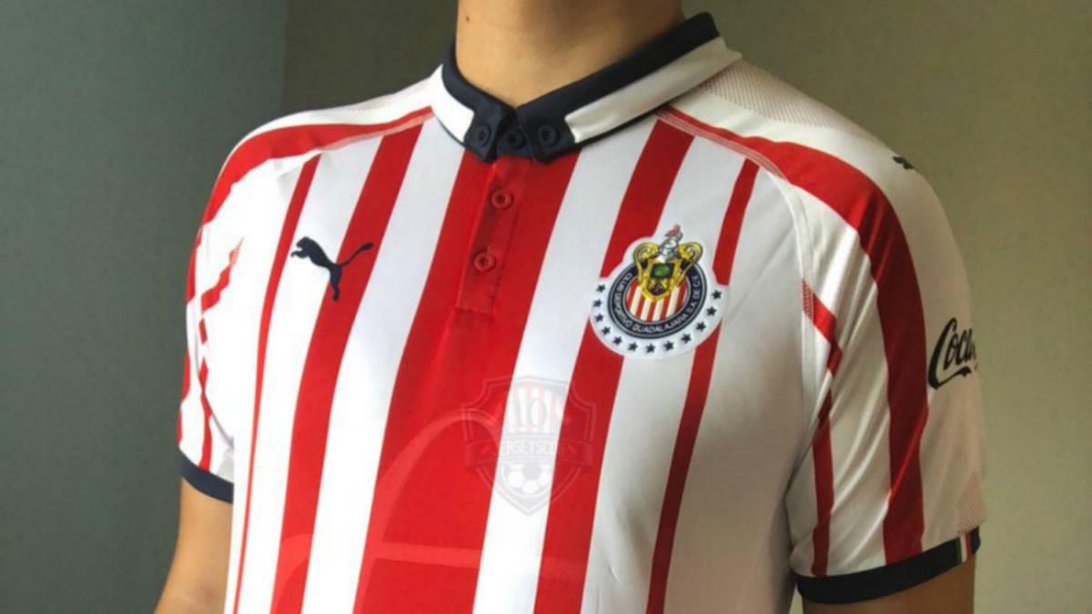 Liga MX  Chivas presentará uniformes tres días antes del debut en el ... b737b25618daf
