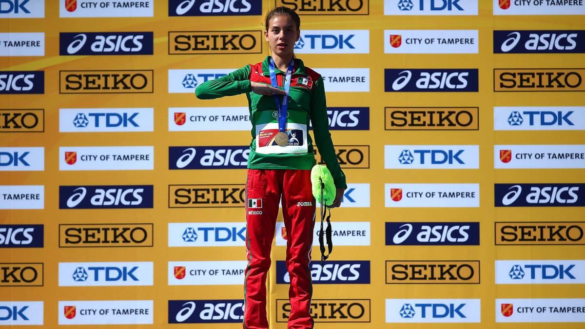 Alegna González se corona en Mundial de Atletismo sub 20