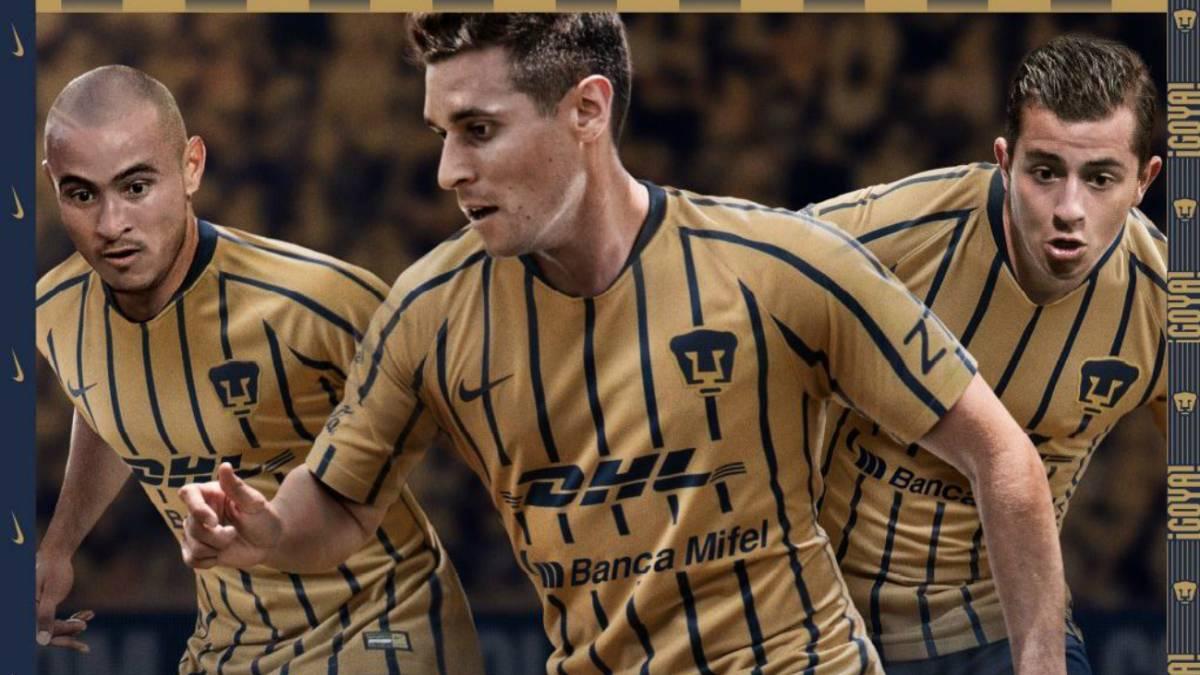 Pumas presenta sus uniformes para el Apertura 2018 - AS México 2177f138753d0