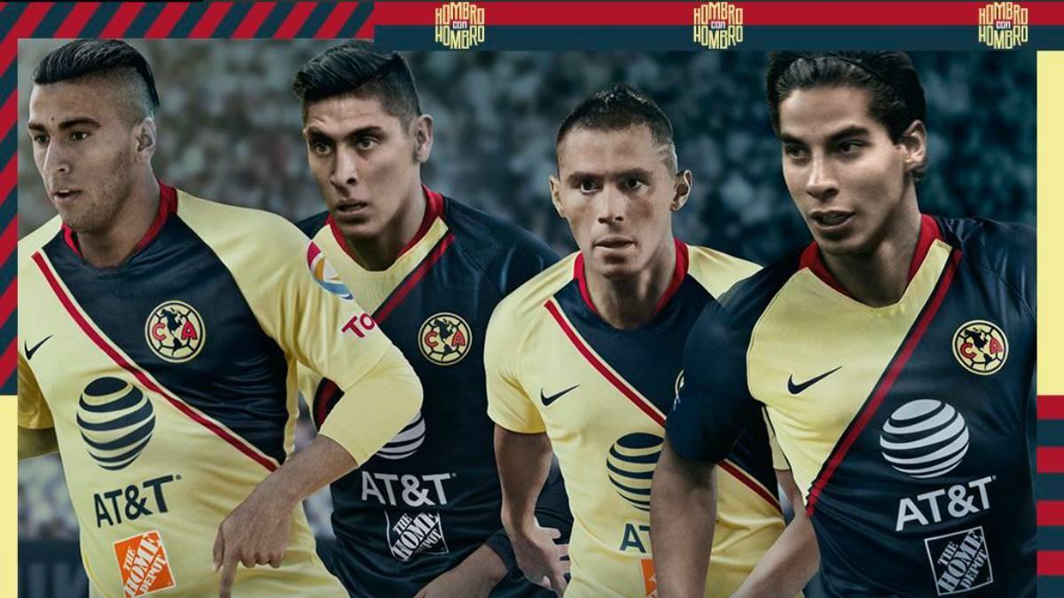 07d284225e1 América presentó su camiseta para la campaña 2018-19 - AS México