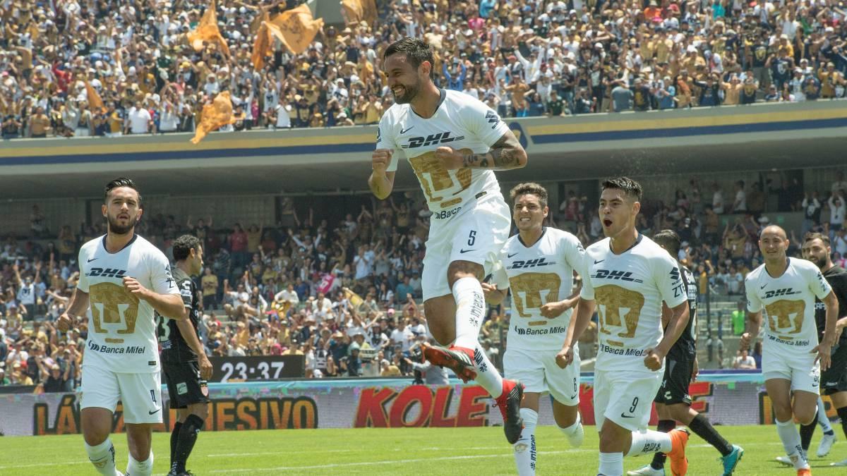 Pumas – Necaxa (5-3)  Resumen del partido y goles - AS México d358c7c1687b4