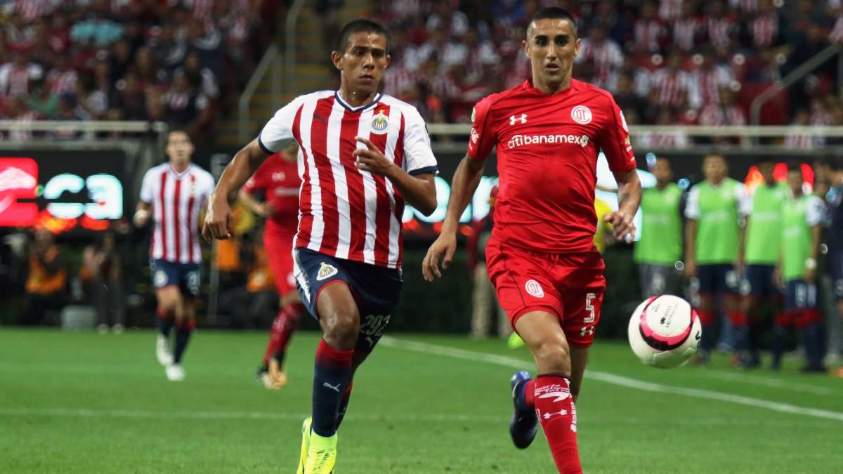 Toluca rescata un diabólico empate ante Guadalajara