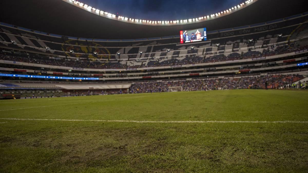 Cancha del Estadio Azteca estará en condiciones para septiembre