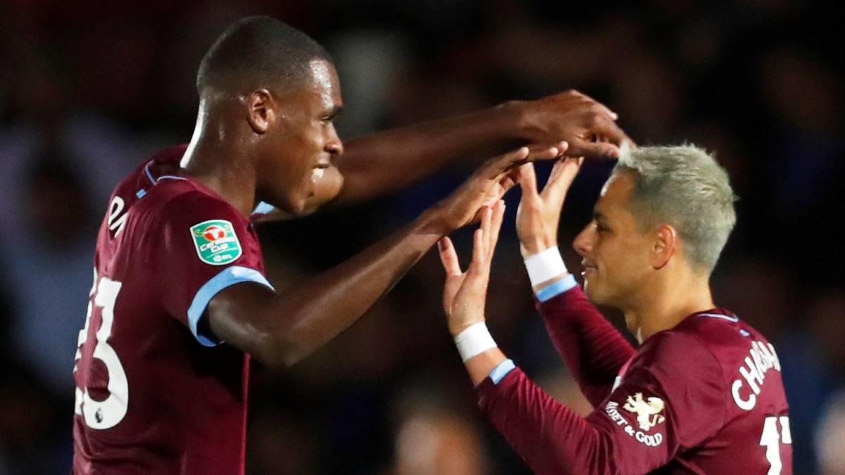 ¡Está de vuelta! Chicharito anota en victoria del West Ham