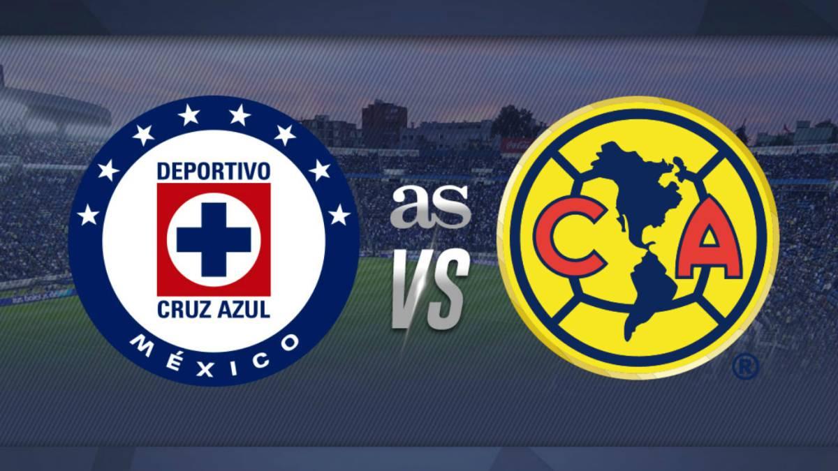 Cruz Azul América 1 3 Resumen Del Partido Y Goles As México