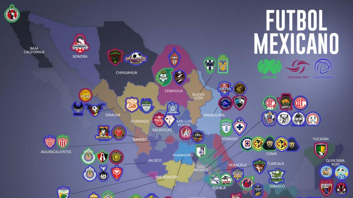 ad4e5a5ced92e Sólo tres estados no disfrutan del fútbol profesional en México - AS ...