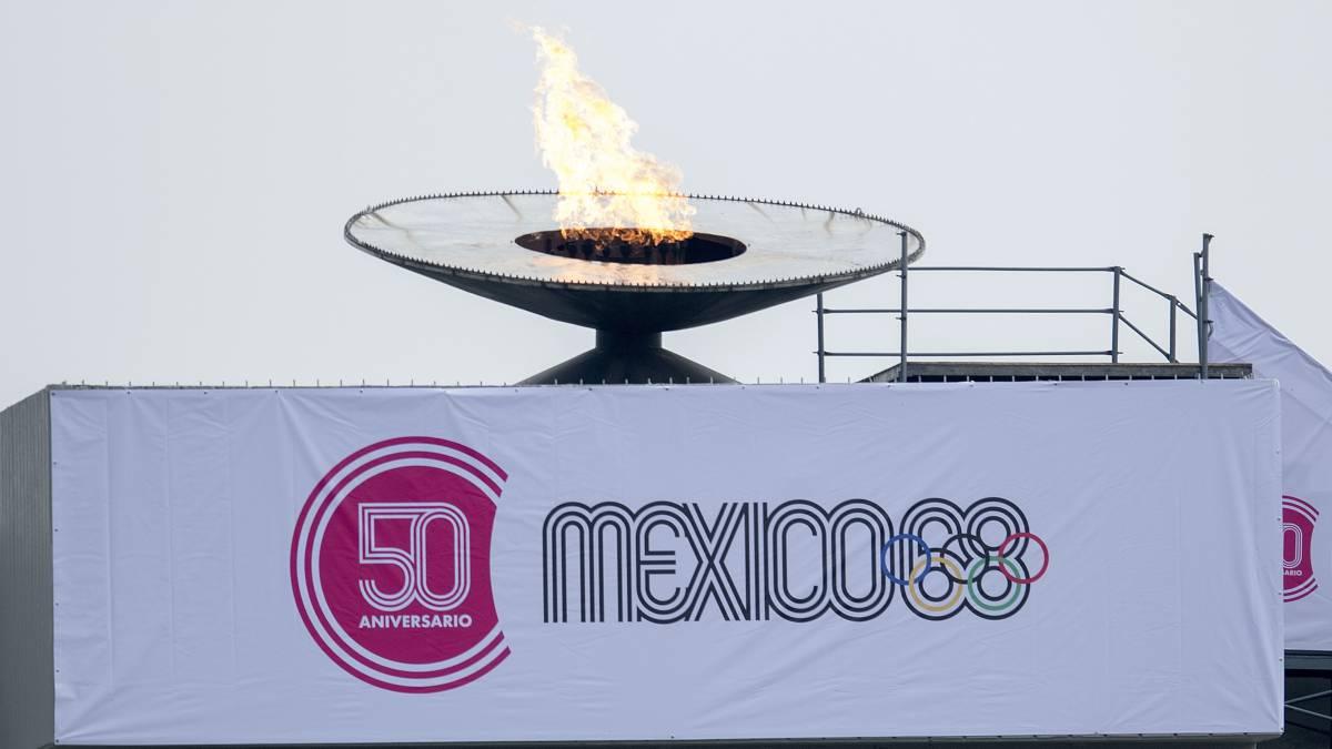 Así fueron las alineaciones de México tras la denuncia del 68