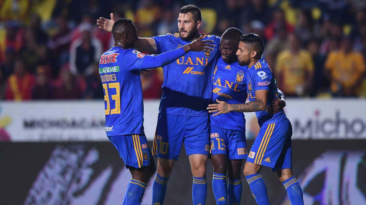 Tigres de Eduardo Vargas derrotó a Morelia de Millar, Vegas y Valdés