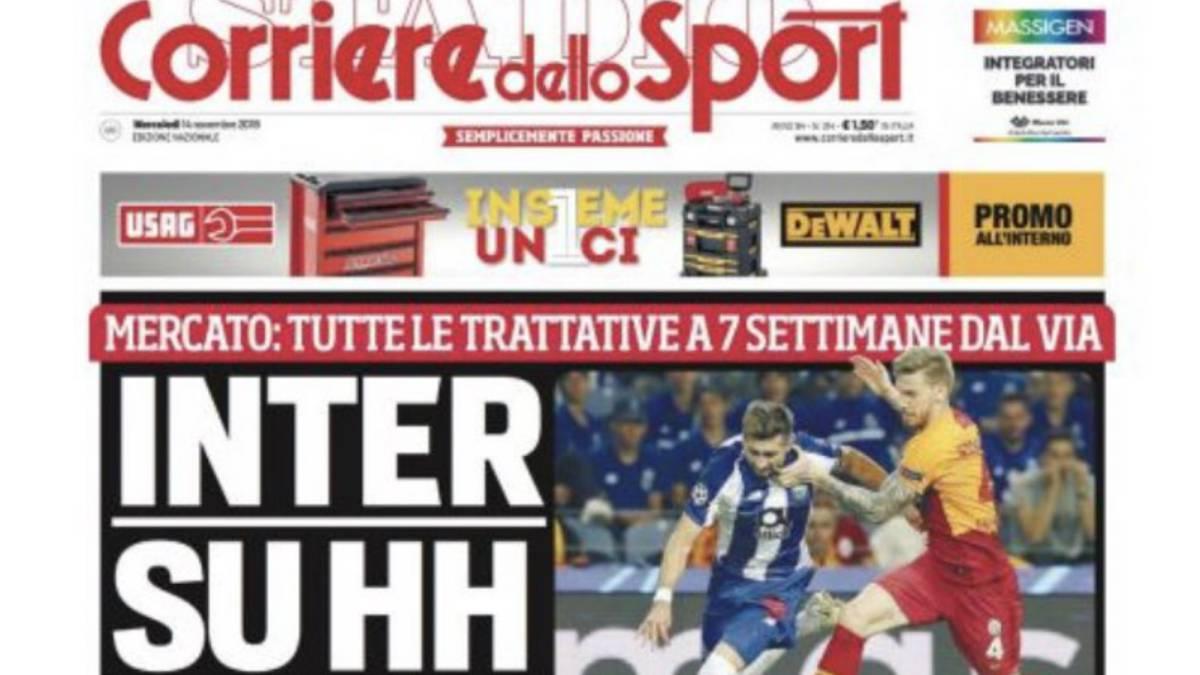 Héctor Herrera a nada de llegar al Inter