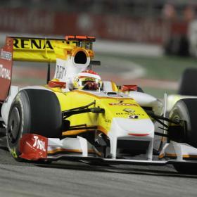 Alonso logra el primer podio del año en Singapur