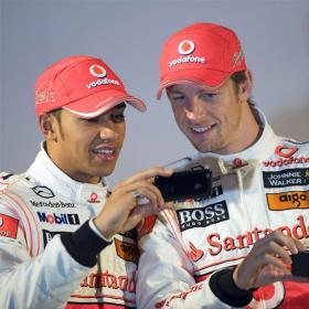 """Hamilton: """"Para ganar el Mundial, necesito un compañero como Button"""""""