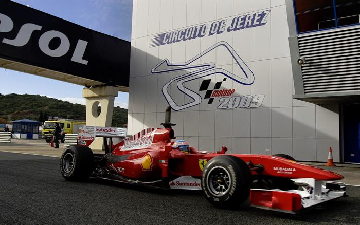 Ferrari quiere algún test fuera de España en 2011