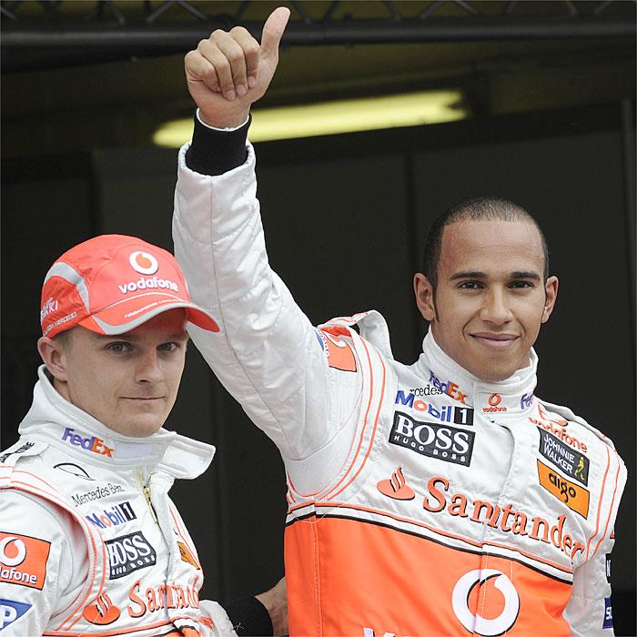 McLaren ordenó en 2008 a Kovalainen dejar pasar a Hamilton en el mismo punto de Hockenheim